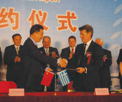 AIA and Beijing Capital International Airport (BCIA) signed a Brotherhood Agreement at a ceremony in the Chinese capital in July. It was signed by Dong Zhiyi, General Manager, BCIA, and Dr. Yiannis Paraschis, CEO, AIA and ACI EUROPE President.