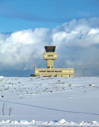 Staff training and translations at Keflavik have been completed. The next stage involves tailoring the system to its surrounding environment, including weather stations.