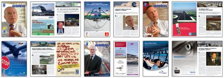Airport Business Magazine Covers
