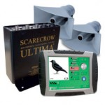 Scarecrows Ultima is a Bio-acoustic bird control unit that autonomously collates compliant data records of any bird control activity. It centres on a vehicle-mounted Tablet PC, GPS receiver and a bio-acoustic processor unit, containing the distress calls of 14 species, loaded to the airports specification.