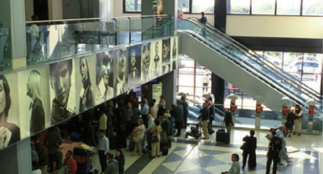 The design of Verona Airport is being reorganised to complete a new departure terminal, enabling 70% more retail space.