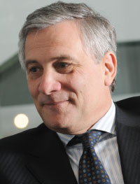 """Antonio Tajani, European Commission Vice-President: """"The European Commission's proposal is not definitive and it doesn't solve all of the problems. It's a proposal that is dealing with a state of emergency but does require a more detailed review when we look at the whole system in the future."""""""