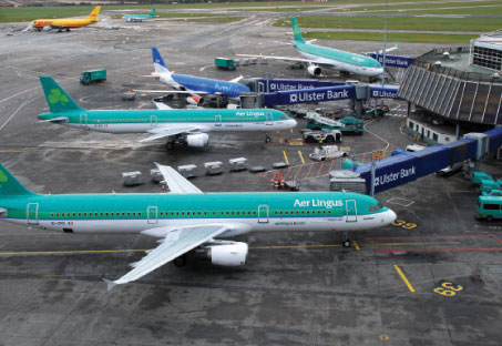 The Apron 6 project was the largest apron development ever undertaken at Dublin Airport. The apron area, the final phase of which was completed last September, is located west of the crosswind runway, to the southwest of Pier D.