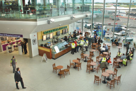 The 554 million T1X facility improves the passenger journey to Pier A and Pier D and also provides additional airside retail and food and beverage.