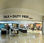 The Nuance Groups new 145sqm walk-through duty free store has been designed to maximise the visibility of the commercial products and create free flows through the shop.
