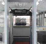 The COBUS SCAN 3000 facilitates the screening of baggage and each passenger is also screened via a walk-through metal detector. The process is designed to provide the same service as the terminal security checkpoint, providing a primary or secondary layer of security, as well as saving infrastructure costs.