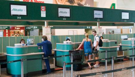Check in alitalia madrid infissi del bagno in bagno for Oficina alitalia madrid