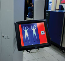 Full body scanners have been integrated into the airport security training process since their widespread introduction in airports earlier this year.