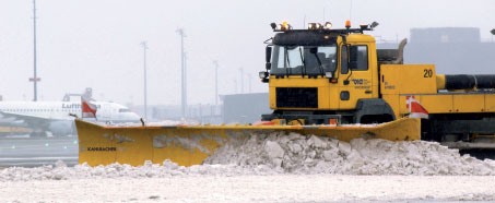 The VAMPIR KL 690 has been designed to speed up snow clearing operations, while also minimising the airport's carbon footprint.