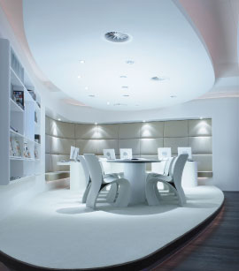 The 600sqm Privium ClubLounge has been specifically designed to offer Privium Plus members at Amsterdam Airport Schiphol a relaxing waiting experience.