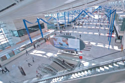 "In recent months, both Istanbul Atatürk and Ankara Esenboga (pictured) have become Airport Carbon Accredited. Sener: ""We are aware of our social responsibilities; we attach great importance to environmental issues. We are doing a lot of work to reduce emissions and are demonstrating this to passengers, as sustainable growth is very important."""