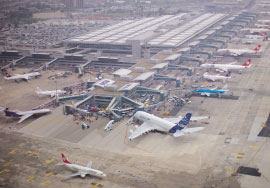 TAV saw 13% passenger growth in the first half of 2010 on the top of 3% growth in 2009, while European passenger traffic increased 6% in the first half of 2010 and contracted by 3% in 2009.