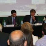 Pictured at the workshop are: Olivier Jankovec, Director General, ACI EUROPE; Stefano Paleari, Director of the Scientific Committee of ICCSAI; Giuseppe Bonomi, President and CEO, SEA Aeroporti di Milano; and Giuseppina Gualtieri, President, Aeroporto G Marconi di Bologna.