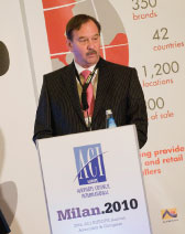 Rutten of the Schiphol Group re-elected for a second term as President of ACI EUROPE