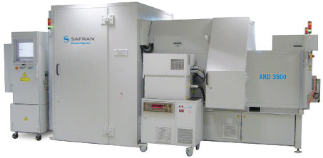 The XRD 3500 EDS is the first such system to achieve ECAC Standard 3 certification.