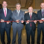 The official Opening Ceremony was performed by: ACI EUROPE President Ad Rutten; Orhan Birdal, General Manager of the General Directorate of State Airports Authority (DHMI); Dr Sani Sener, President and CEO, TAV Airports Holding; and Olivier Jankovec, Director General, ACI EUROPE.
