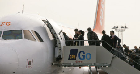 CPH Go launch customer easyJet grew by 60% at Copenhagen Airport in 2009. In 2010 this growth will be around 30% driven by the two new routes to Paris and Basel.