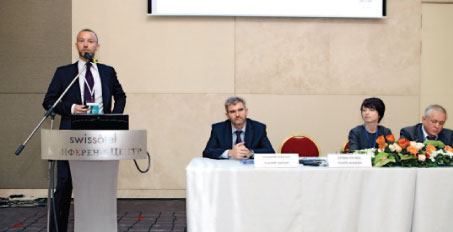 An ACI EUROPE delegation, led by Olivier Jankovec, Director General (pictured addressing the event) and Ad Rutten, President, highlighted the current status and prospects for airport industry development. The event was concluded with round table discussions on the role of ACI EUROPE within the airport industry.