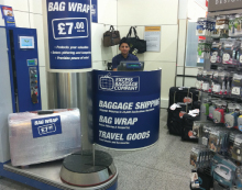 Excess opened its first 'pop-up' Baggage Centre at Gatwick's South Terminal in February.
