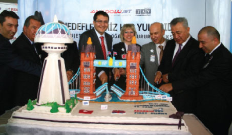 The figures for 2010 highlight the vibrancy of the Turkish air travel market. Ankara, for example, achieved growth of +27.5% and that trend looks set to continue in 2011. AnadoluJet launched services between Ankara and London Stansted in January.