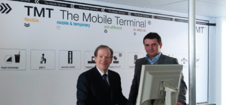 First TMT The Mobile Terminal opened at Geneva Airport