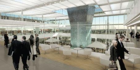 Koch partner · projects · munich airport · terminal