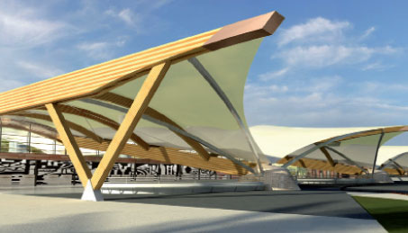 Rouverand: Airport design is at the heart of our work, which is what enables us to provide airports with the best possible advice and assistance.