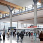 Ettre: One of the tasks in the planning of T2 is to increase the airports commercial activities and to considerably increase the space.