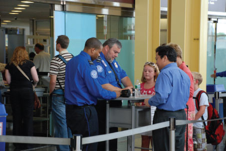 Image to illustrate airport security.