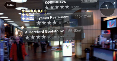 Copenhagen Airport's 'Augmented Reality' app