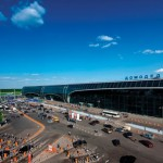 Moscow Domodedovo handled more than 25.7 million passengers in 2011. Domestic passenger traffic exceeded 10 million passengers  a 17.6% increase year-on-year, while international passenger traffic reached 15.5 million  up 14.1%.