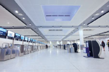 BA initially installed the new kiosks in the new North Terminal extension at London-Gatwick Airport last October.
