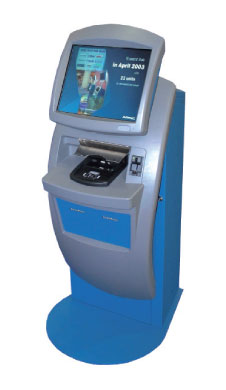 ARINCs common-use self-service kiosk.