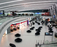 All airlines were relocated to Terminal 2 in May following the closure of Terminal 1. The airport decided to close Terminal 1, previously used by the low-cost carriers, as part of its efficiency drive following the demise of Malv.