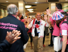 On 10 September, London-Heathrow waved goodbye to 5,000 departing Paralympic athletes and officials.
