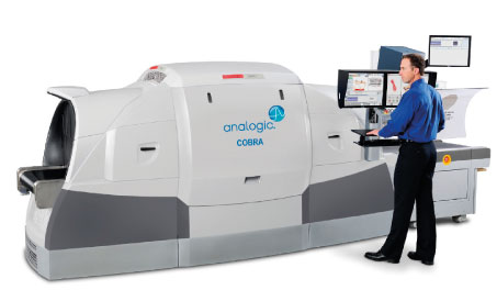 The COBRA checkpoint CT system