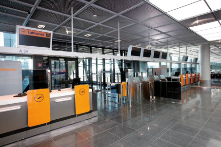 Lufthansa passenger processing