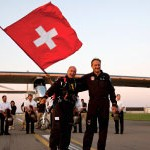 Solar Impulse is the innovative brainchild of Bertrand Piccard and Andre Borschberg. To date, the Solar Impulse project has successfully visited the following European airports – Paris, Brussels, Madrid, Toulouse, Zürich, Geneva and Payerne.
