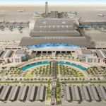 Muscat International Airport's new terminal will have an initial capacity of 12 million passengers per year when it opens in 2014. Further expansion in three subsequent phases will increase capacity to 24 million, 36 million, and ultimately 48 million passengers per year.