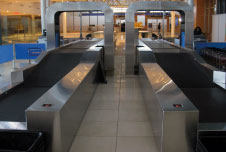 Brock Solutions' SmartDrop Baggage Image and Weight Identification System (BIWIS) at Edmonton International Airport.