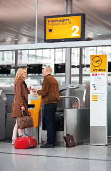 Materna recently installed 39 new Self Bag Drop points for Lufthansa at Munich, Frankfurt and Hamburg airports.