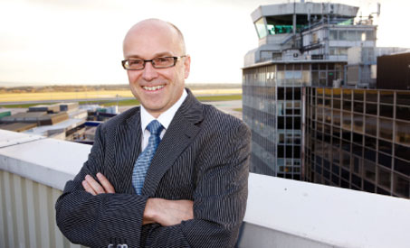 Charlie Cornish, CEO of Manchester Airports Group