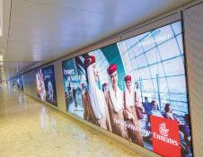EPSiLON Aero's 'Banner PTS' LED backlight advertising board