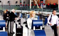 Montréal-Trudeau Airport's modernised terminal.