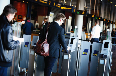 Earlier this year, Copenhagen Airport installed six new e-gates.