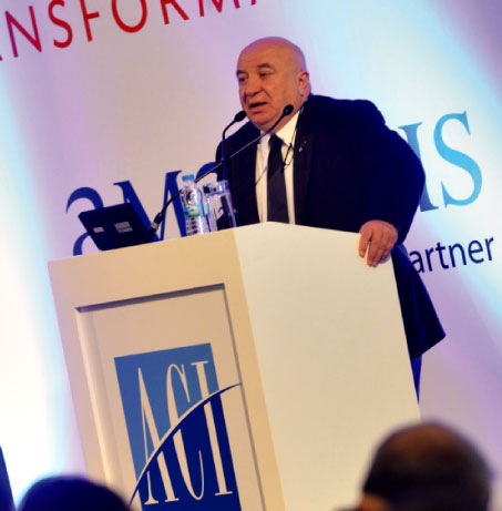 Dr. Sani Sener, President and CEO, TAV Airports Holding, expanded on TAV's progression from a construction company to a leading airport operator.