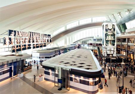 A unique, more efficient airport of the future