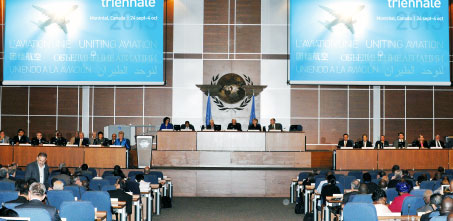 ICAO's 38th Triennial Assembly.