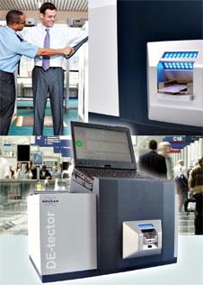 Bruker Detection's DE-tector system.