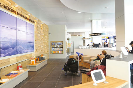 Lyon Airport unveils Welcome Zone